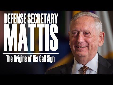 Mattis: the Origins of his Call Sign