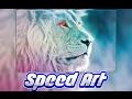 SpeedArt|Lion Wallpaper