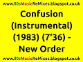 watch he video of Confusion (Instrumental) - New Order | 80s Dance Music | 80s Club Music | 80s Electro Funk