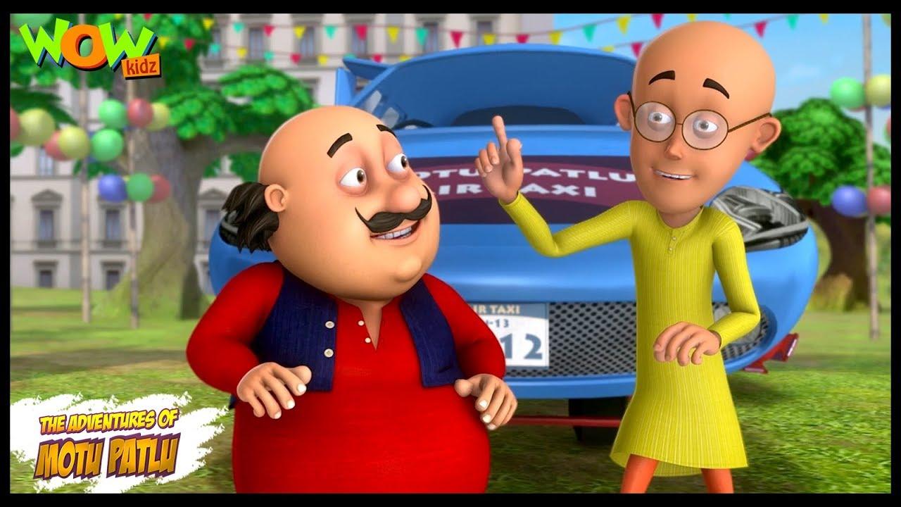 Download Motu Patlu New Episode | Hindi Cartoons For Kids | Motu Patlu Ki Air Taxi | Wow Kidz