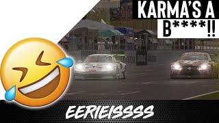 Karma is a wonderful thing, especially on Gran Turismo Sport!!
