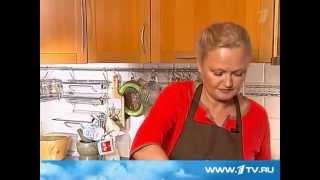 Спаржа с томатной приправой от Ольги Баклановой