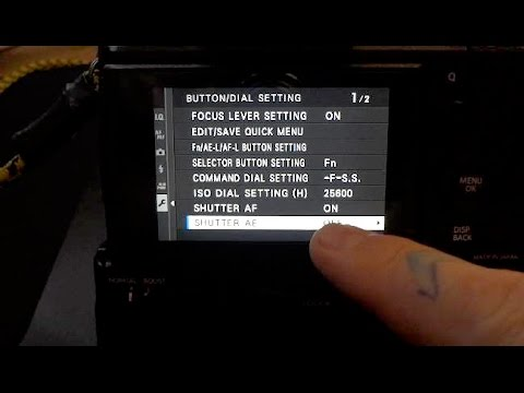 *!*Fujifilm X-T2*!* Super-TIP: CHANGE THIS SETTING ON YOUR XT2 , and WHY