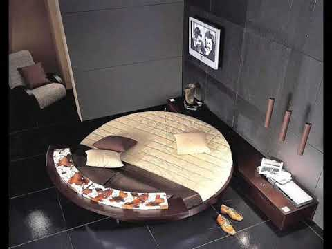 Round Rotating Italian Bed From Austin Powers - Rotating bed