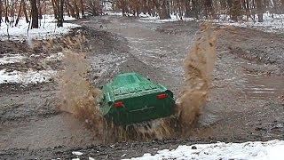 BTR-80 8x8, Summit 6x6 Water barrier ( Водные преграды)