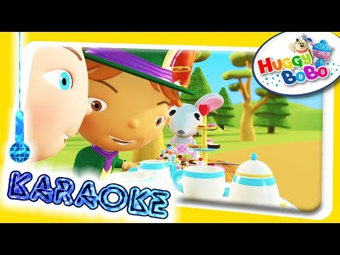 Polly Put The Kettle On | Sing Along Karaoke | Nursery Rhymes | By HuggyBoBo