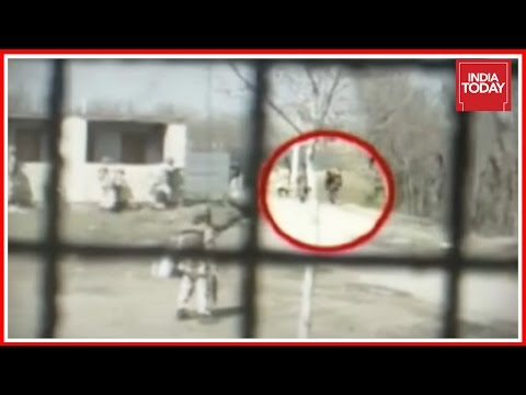 India First: Stone Pelter Shot Dead Caught On Camera, J&K Po