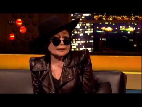 """""""They Blame Me For Breaking Up The Beatles!"""" Yoko Ono On """"Jonathan Ross"""""""