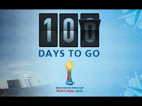 Countdown to the FIFA Beach Soccer World Cup 2015