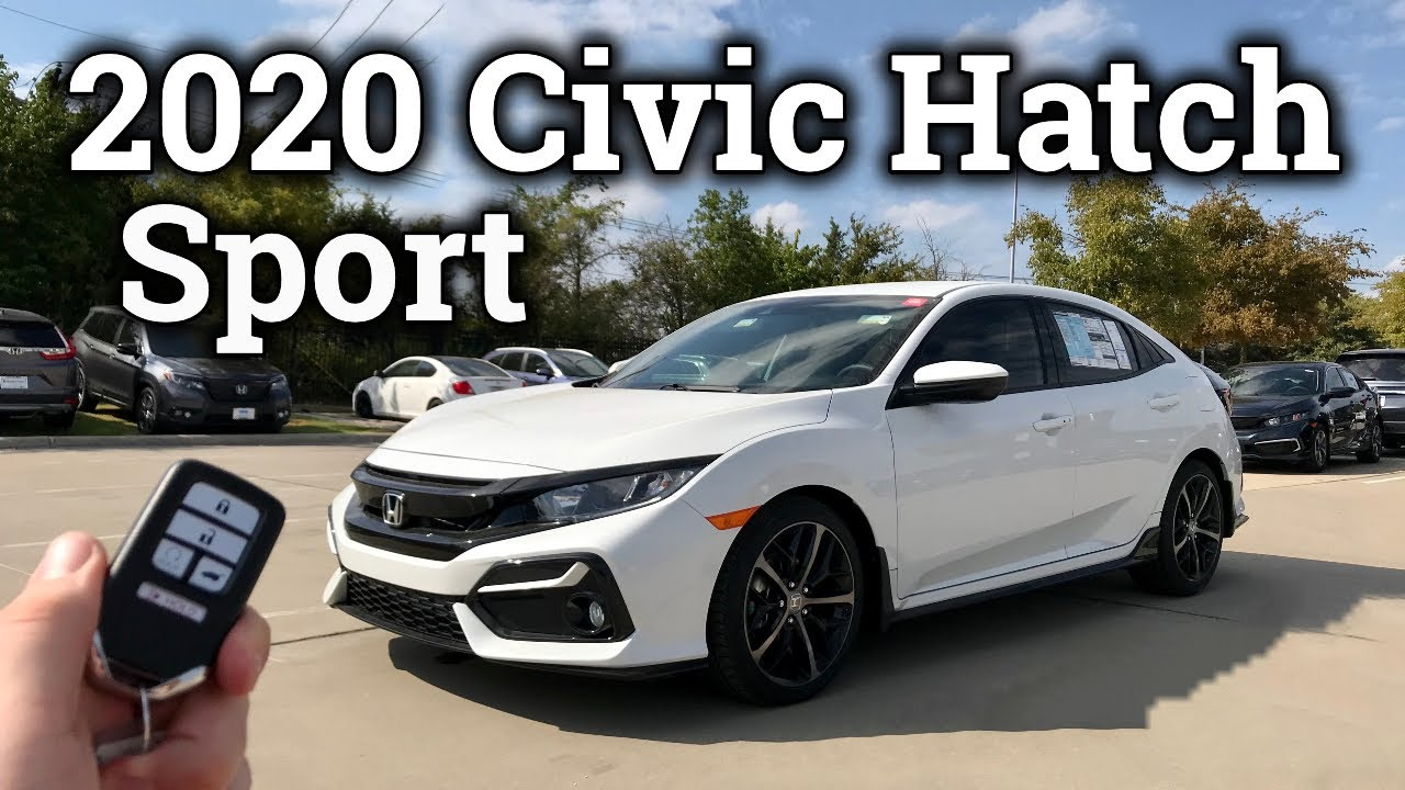 Ultimate Refreshed 2020 Honda Civic Hatchback Review Drive Youtube