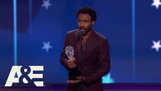 Donald Glover Wins Best Actor In A Comedy Series | 22nd Annual Critics' Choice Awards | A&E
