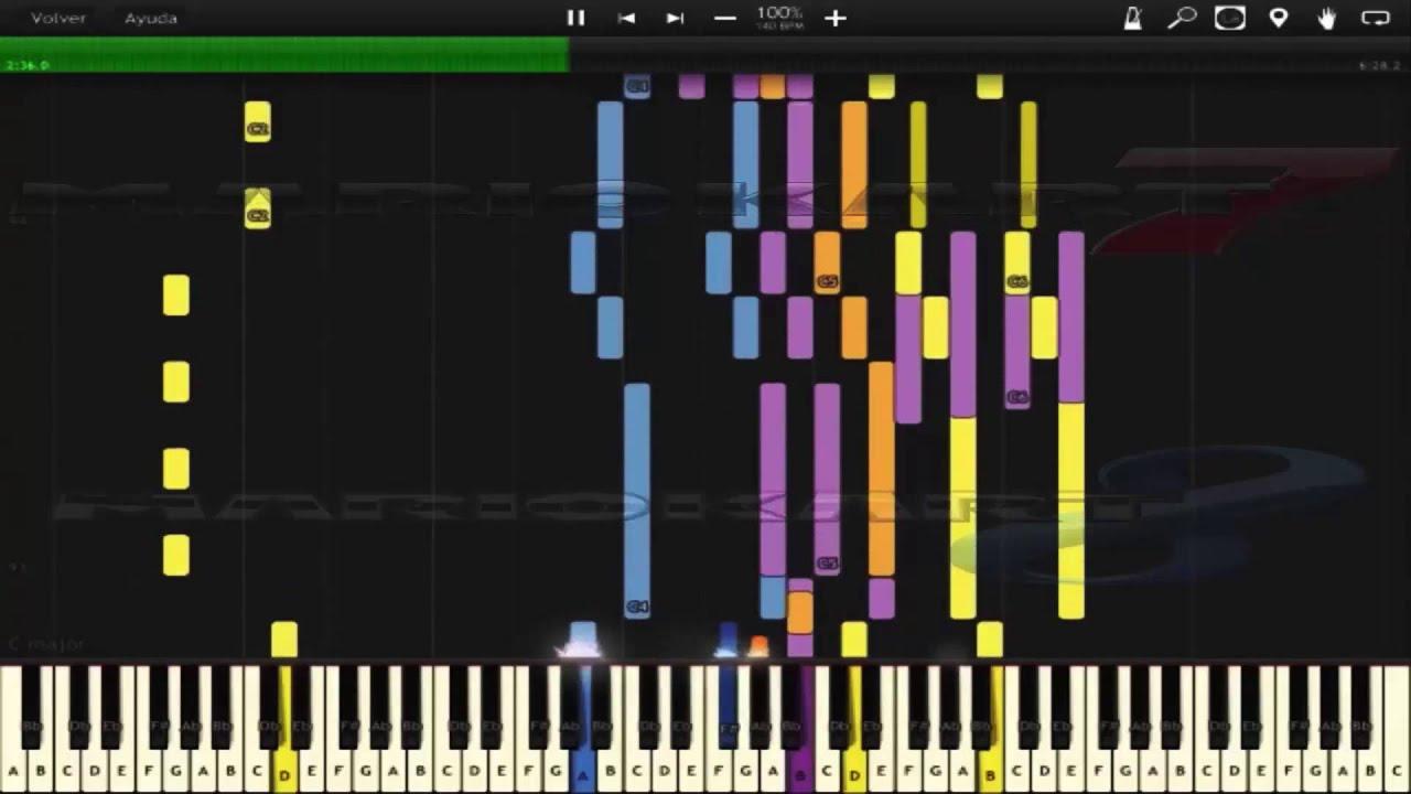 Main theme super mario galaxy 2 [piano tutorial] // aivi tran.