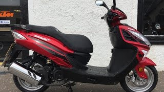 Lexmoto FMS 125 125cc Scooter from BikingDirect.com