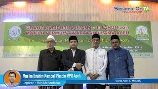Video Muslim Ibrahim Kembali Pimpin MPU Aceh download MP3, 3GP, MP4, WEBM, AVI, FLV September 2018