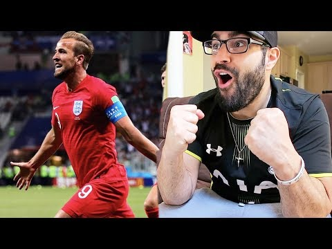 REACTING TO ENGLAND  VS TUNISIA! WORLD CUP 2018