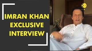 Exclusive interview with PTI leader Imran Khan