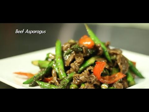 Beef Asparagus In The Kitchen With Maile