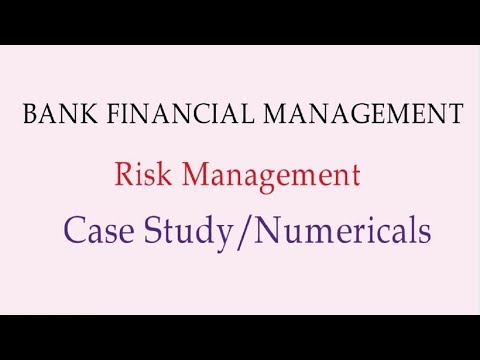 Case study and Important Numericals Risk Management BFM CAIIB [in HIndi]