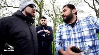 **MUST WATCH** Rejecting Hadith!!? Adnan Rashid vs Hadith Rejector   Speakers Corner   Hyde Park