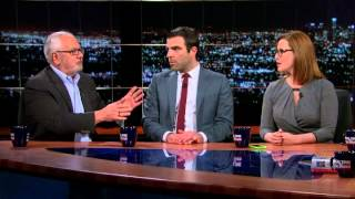 zachary quinto loses it on real time but gets it right back