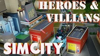 Simcity - Heroes and Villians Set DLC