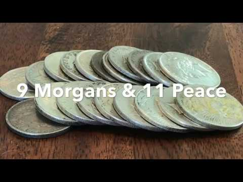 Stacking Silver Dollars: Morgan & Peace Culls From APMEX/eBay