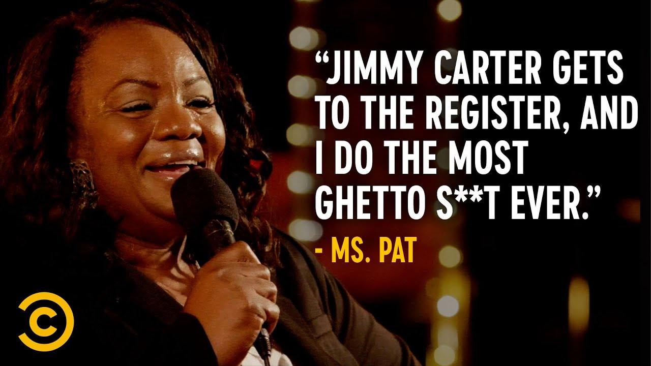 Jimmy Carter Walks Into a McDonald's… - Ms. Pat