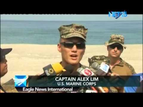 Philippines & U.S. troops hold maritime survillance exercises in joint war games
