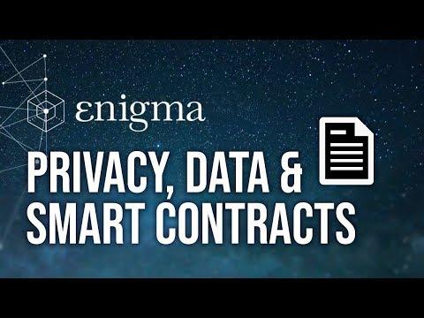 Enigma - Secret Nodes, Private Data & Smart Contracts