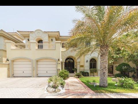 Palm Jumeirah 5 Bedroom Villa for Sale (House Tour in Dubai 2017)