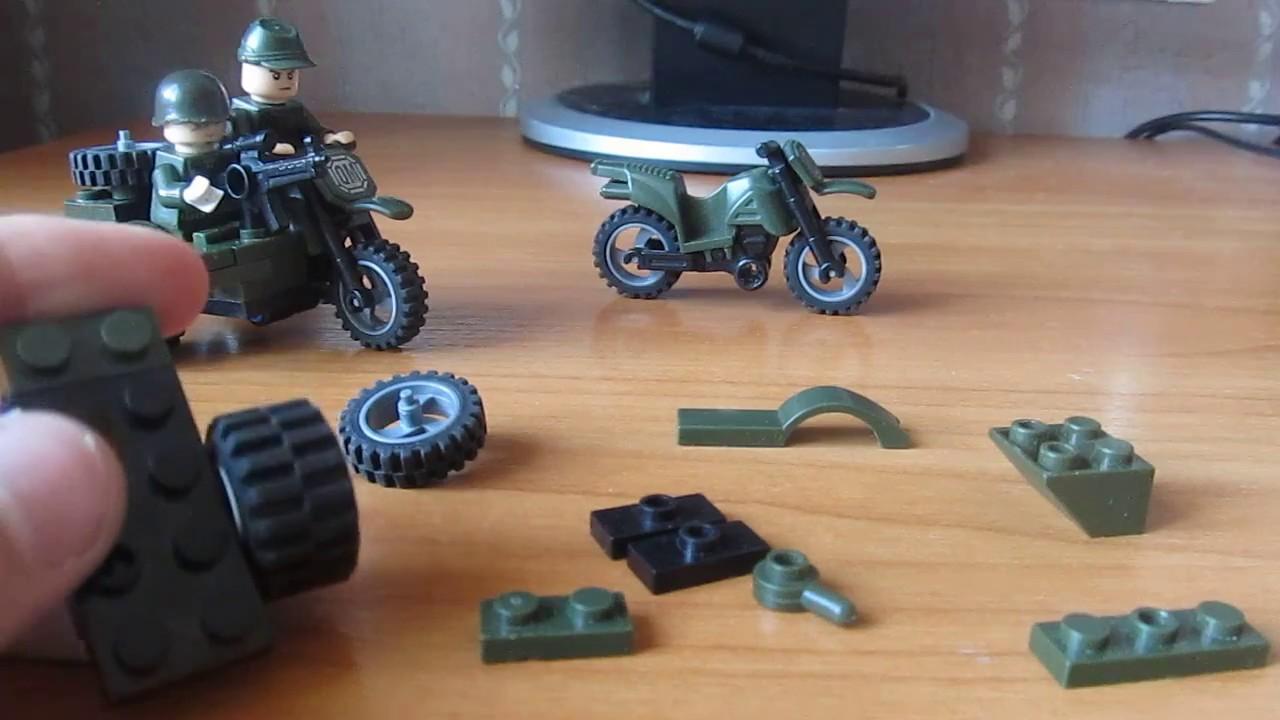 Как сделать из конструктора мотоцикл фото 724