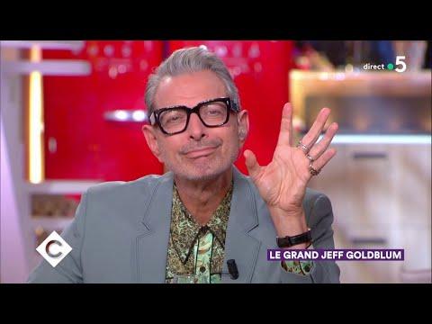 Au Dîner Avec Jeff Goldblum ! - C à Vous - 19/11/2018