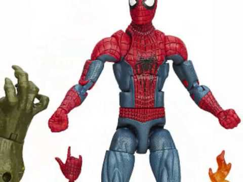 figurines spiderman jouets pour enfants jouet spiderman youtube. Black Bedroom Furniture Sets. Home Design Ideas