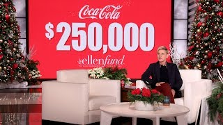 Coca-Cola Shares the Holiday Magic with The Ellen Fund