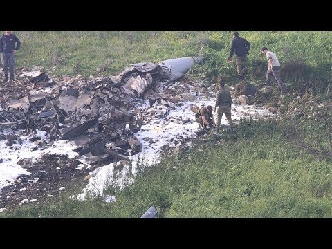 Tensions flare Israeli F-16 fighter jet downed by Syria