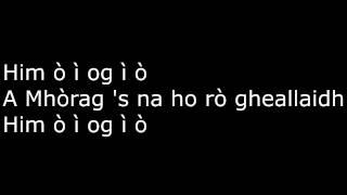 Clannad - Mhòrag 's na ho rò gheallaidh + Lyrics