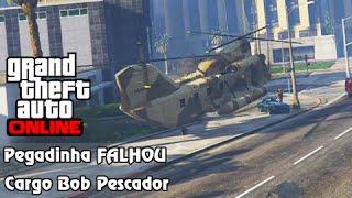 GTA V Online: Pegadinhas IMPOSSÍVEL! Cargo Bob Pescador