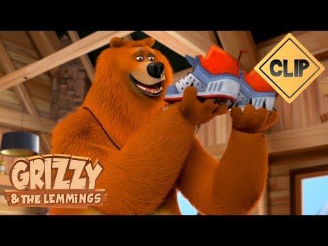 Les nouvelles baskets de Grizzy - Grizzy et les Lemmings