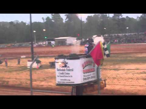 Ark La Tex Speedway Lucas oil Latemodel time trial 2014