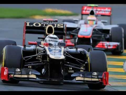 "F1 Australia 2012 - Kimi Raikkonen ""Blue Flags?"" radio broadcast"