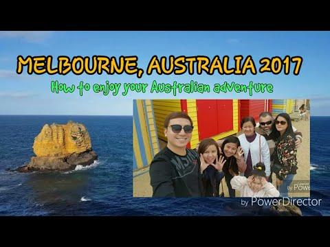 Travel video - Melbourne Australia 2017