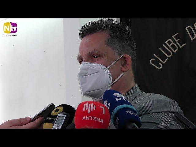 Rui Alves abordou os temas da atualidade alvi-negra