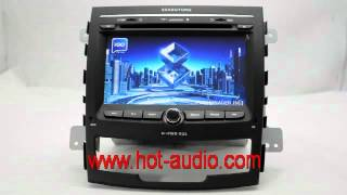 Car DVD for Ssangyong Korando with RDS PIP IPOD TV Bluetooth Built in GPS system V8 Disc Free Shipping & Gift