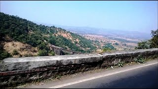 Beauty Of Nature In Kasara (Thul) Ghat National Highway No.3 Maharashtra India 2014 [HD VIDEO]