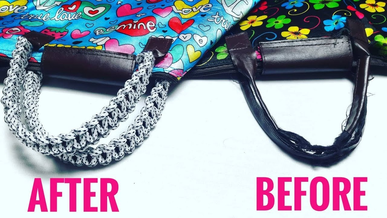How To Repair Bag Handles With Cord