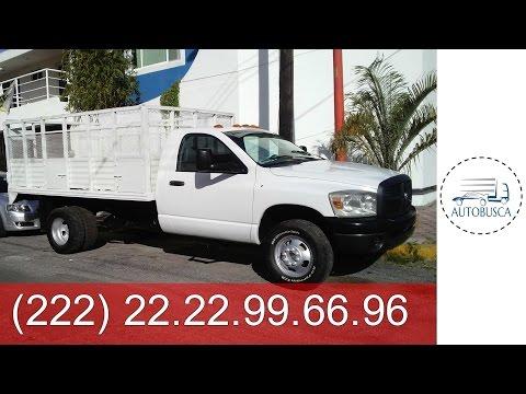 anumex camiones- DODGE RAM 4000 2008 TURBO DIESEL