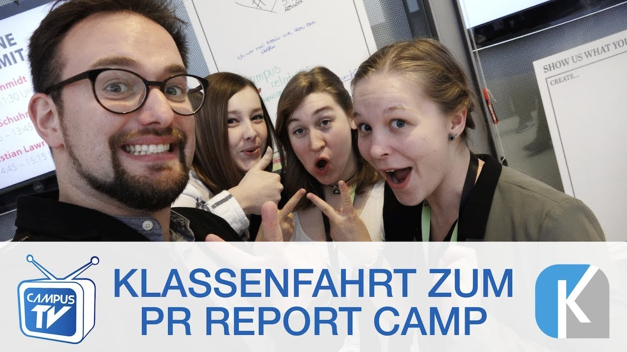 "KommunikOS beim ""PR Report Camp"" 2017"
