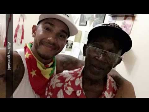 Meeting My Grandad In Grenada!! | Lewis Hamilton Snapchat Vlogs