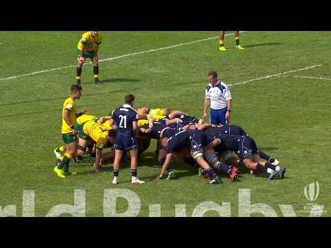 Scotland U20s make history with last minute try