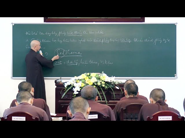 GIỚI LUẬT PHẬT GIÁO - BÀI 10 - TĂNG HỌC - HÒA THƯỢNG THÍCH THÁI HÒA GIẢNG